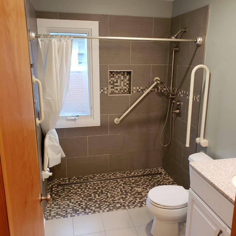 Grab Bars, Accessible Bathroom