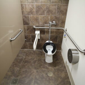 Accessible Commercial Bathroom