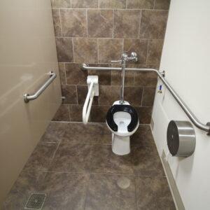 Accessible Commercial Bathroom