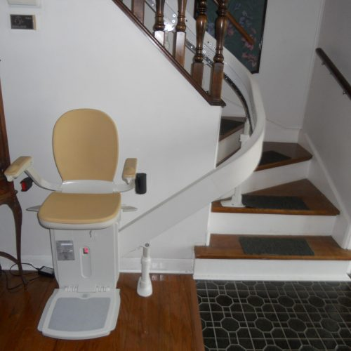 Indoor Curved Stairlift